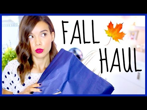 Fall Haul 2014!! Clothing, Makeup + More!
