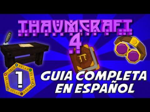 THAUMCRAFT 4.2 MOD MINECRAFT 1.7.10   Mod de Magia - Investigaciones. Thaumonomicon [Ep1]