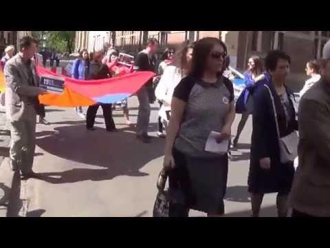 Krakowski Marsz Pamięci Ludobójstwa Ormian