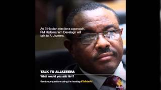 PM Hailemariam Desalegn will sit down with Talk to Al Jazeera for a one-on-one interview.-Almneh Was