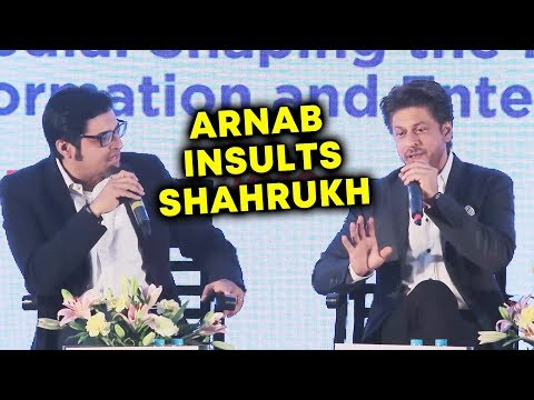 Shahrukh Khan BEST REPLY To Arnab Goswami INSULT thumbnail