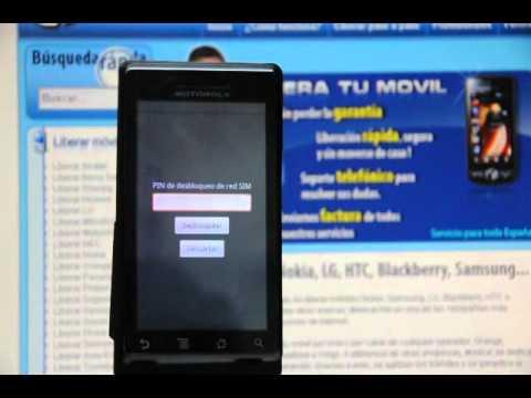 Liberar Motorola Milestone. desbloquear Motorola Milestone de Orange  - Movical.Net