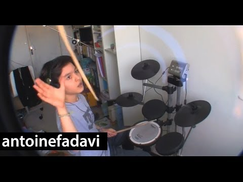 Antoine - RISE AGAINST - Prayer Of The Refugee (Drum Cover)