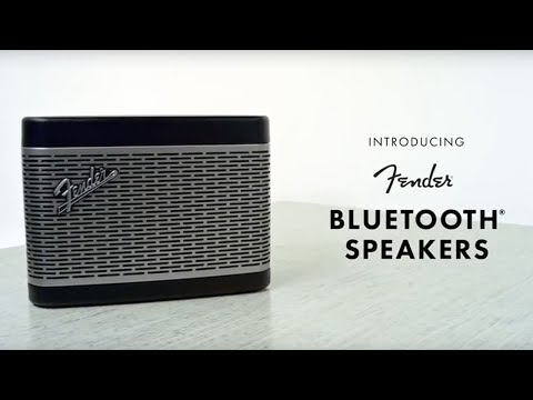 Introducing Fender Bluetooth Speakers Fender 영상
