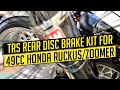 TRS REAR DISC BRAKE KIT FOR 49CC HONDA RUCKUS