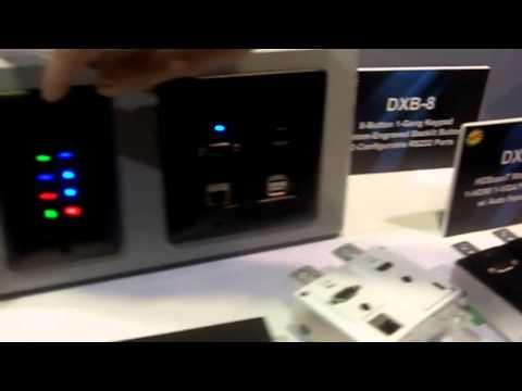 CEDIA 2013: Aurora Intros the DXW2 Series HDBaseT Wall Plate