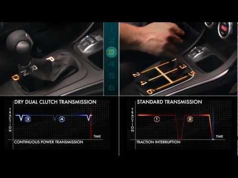 Alfa Romeo - Dodge Dart Dual Clutch Transmission demonstration