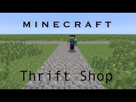 Thrift Shop - Minecraft Parody