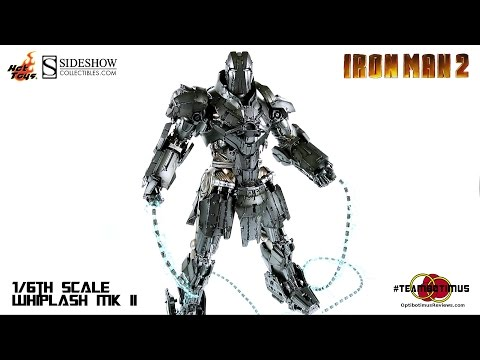 Video Review of the Hot Toys Iron Man 2 Whiplash MK II