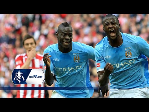 Yaya Touré smashes the winner to lift the FA Cup   From The Archive
