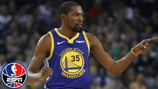 Kevin Durant leads Warriors to win vs. Hawks without Draymond Green, Steph Curry | NBA Highlights