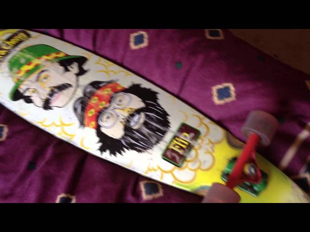cheech and chong longboard review
