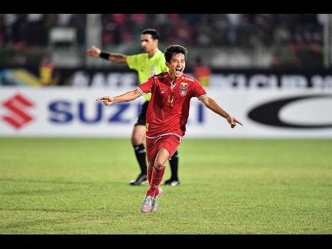 Myanmar vs Malaysia (AFF Suzuki Cup 2016: Group Stage)