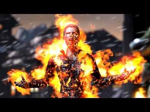 Mortal Kombat X All Test Your Might Failure / Fails PC Ultra Settings