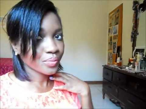 two easy hairstyles for short hair relaxed  youtube