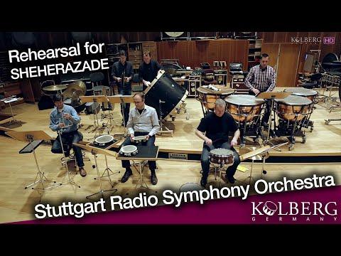 Stuttgart Radio Symphony Orchestra (SWR Sinfonieorchester) - Rehearsal for SHEHERAZADE