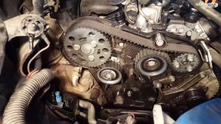 VW Passat B6 2.0 TDI Timing Belt replacement - Inlocuire curea distributie VW Passat B6 2.0 TDI