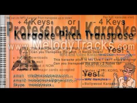maar gayi mujhe teri judaayi Kishore Kumar Karaoke www MelodyTracks...