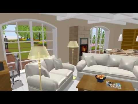 150822 Stadthaus Mit Garten - Erstellt Mit Sweet Home 3D