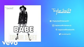Download Lagu Taylor Swift - Babe (Live Acoustic) Gratis STAFABAND