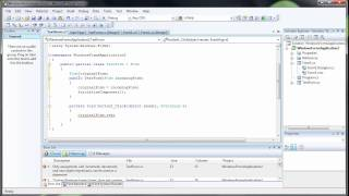 How to Transfer Information Between Forms - C# C Sharp Visual Studio 2008