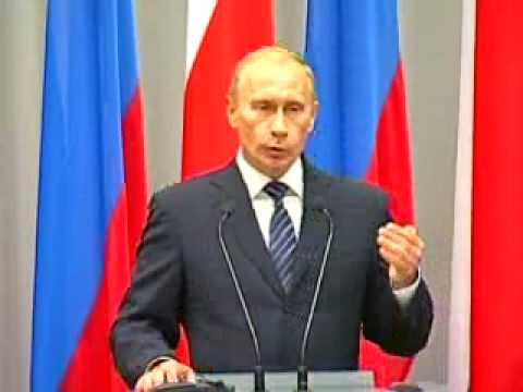 В.Путин.Д.Туск.Пресс-конференция.01.09.09.Part 4