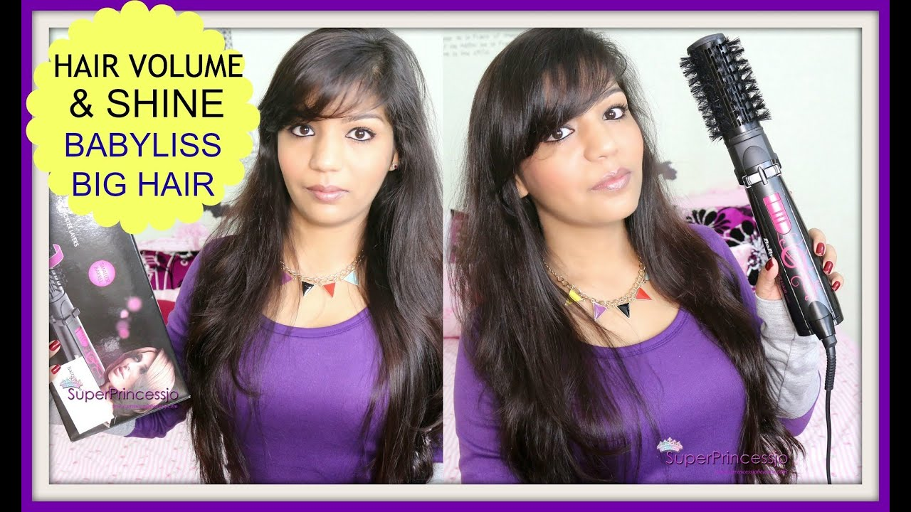 Review Tutorial Babyliss Big Hair Rotating Brush How To