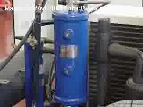 Montaje de una cámara frigorífica