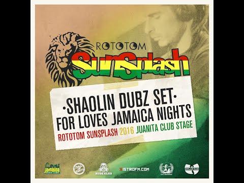 Shaolin Dubz DJ Set @ Rototom Sunsplash 2016 LJMIX 001