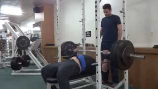 Equipped Bench Press 445 Lbs