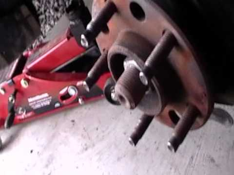 2000 Montana Ball Joint Replacement