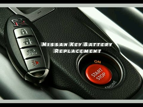 How To Replace A Battery In Your Nissan I Key Remote M