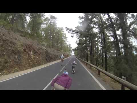 Aaron's downhill skating adventures 2014