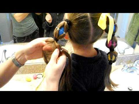 Egg Tails {Ponytails} | Easter | Crazy Hair Day | Cute Girls Hairstyles