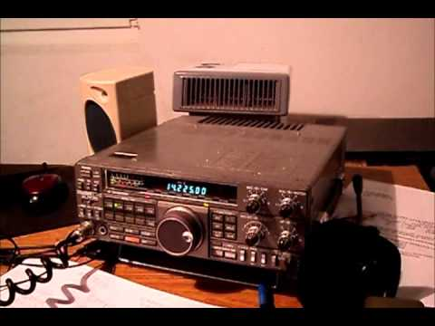 QRP QSO with M0RRV - England on 20 m Band - by 9A6PKT/QRP