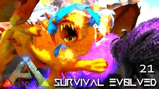 ARK: SURVIVAL EVOLVED - FALLEN DIVINE VS DARKSTAR MEGA BRAWL !!! E21 (MOD ARK ETERNAL CRYSTAL ISLES)