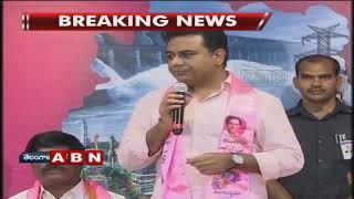 టీఆర్ఎస్ లోకి భారీగా చేరికలు | Minister KTR speech At Telangana Bhavan