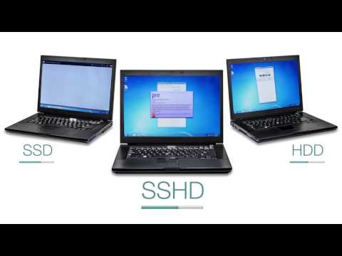 Performance Comparison | SSD vs. SSHD vs. HDD