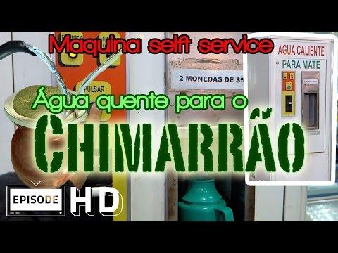 [Curiosidade] Máquina de água quente para chimarrão - Uruguay - Self-service machine