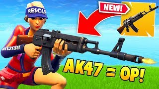 THE *NEW* HEAVY AR IS OP!! (Fortnite Funniest Moments & FAILS #28)