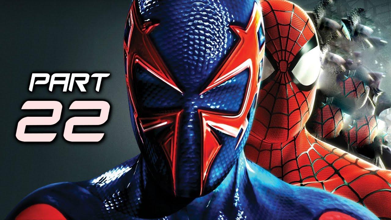The Amazing Spider Man 2 Game Gameplay Walkthrough Part 22 - 2099 Suit ...