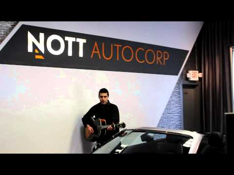 Johnny Cash Cover at Nott Autocorp