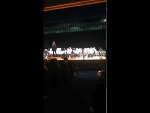 West Alexander Middle School 8th Grade Winter Concert 2011