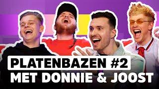 Donnie & Joost geven álles tegen Dennis Schouten en Rutger Vink!   PLATENBAZEN #2