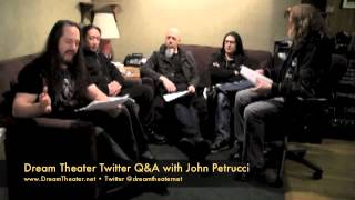 DREAM THEATER - Twitter Q&A with John Petrucci Do you write the music first and then write lyrics?