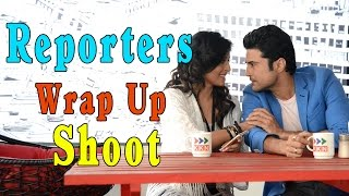 Reporters Wrap Up Shoot