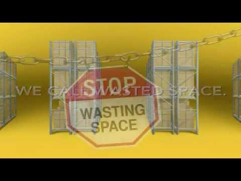 ActivRAC™ Mobile Racking—What You Call Aisles, We Call Wasted Space
