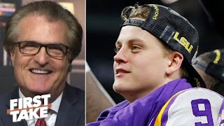 Joe Burrow will be the No. 1 pick in the NFL draft, he's got it all! - Mel Kiper Jr. | First Take