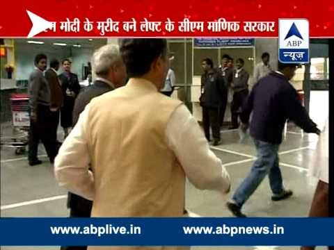 Modi may accept Tripura's communist CM Manik Sarkar's invitation to address state cabinet