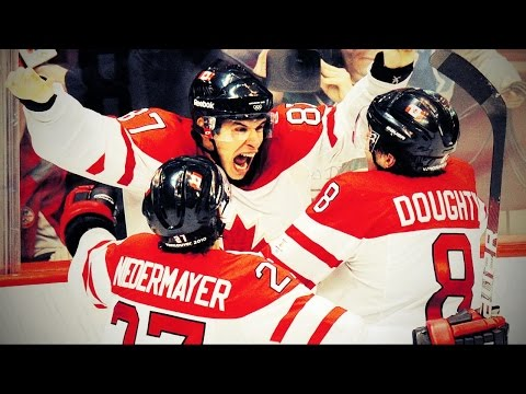 Sidney Crosby Golden Goal - Heard from 16 different TV Broadcasts - Olympics 2010 (HD)
